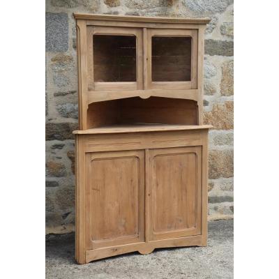 Wooden Corner - Corner Cabinet