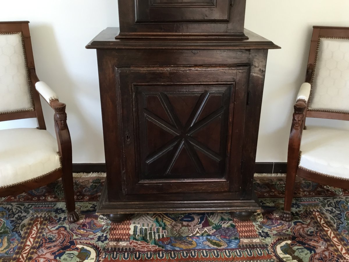 Small Louis XIII Style Cabinet XIXth-photo-3