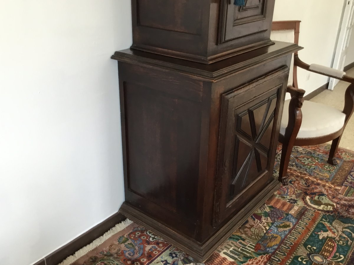 Small Louis XIII Style Cabinet XIXth-photo-2