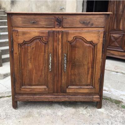 Buffet Two Doors Louis XV In Walnut 18th Time