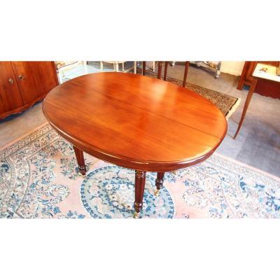 Table Acajou 19ème