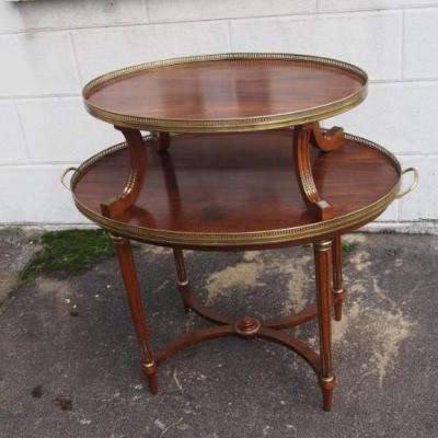 Tea Table Mahogany Early 20th