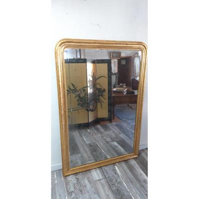 Grand Mirror 19th Golden Wood