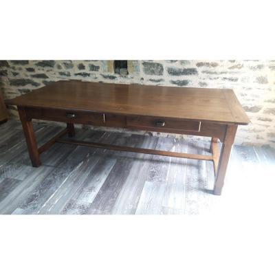 Large 19th Century Country Table