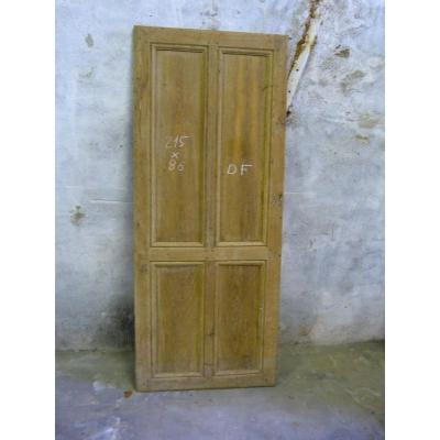 Oak Double Communication Door18th