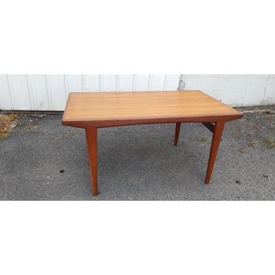 Table En Teck Style Scandinave