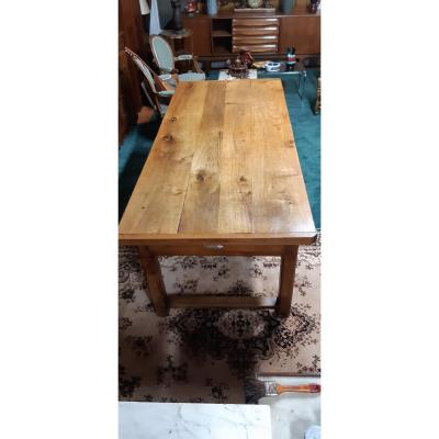 Farm Table End XIX