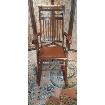 Rocking Chair De Cabinet Dentaire XXème Siècle