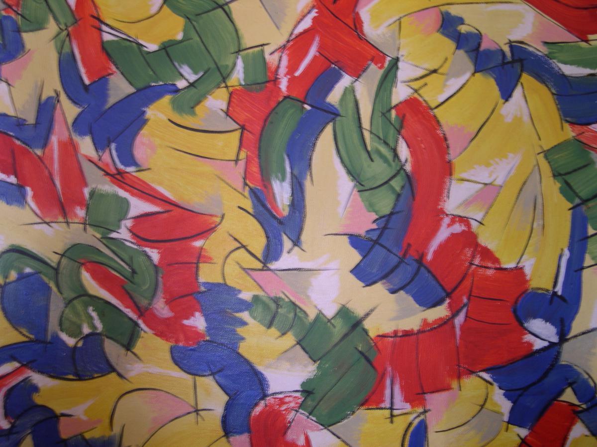 Huile Sur Toile Peintre Christian Belin