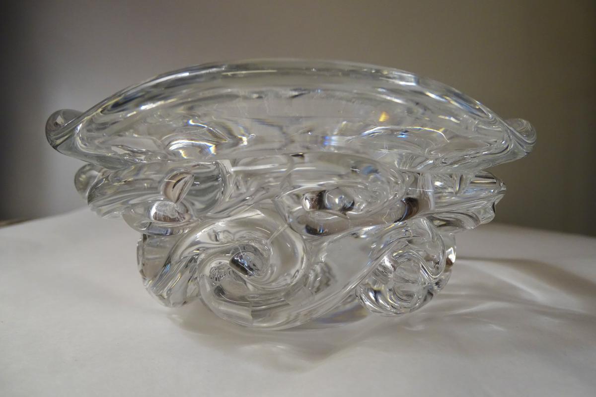 Coupe En Cristal De Baccarat Modèle Aladin Années 50/60