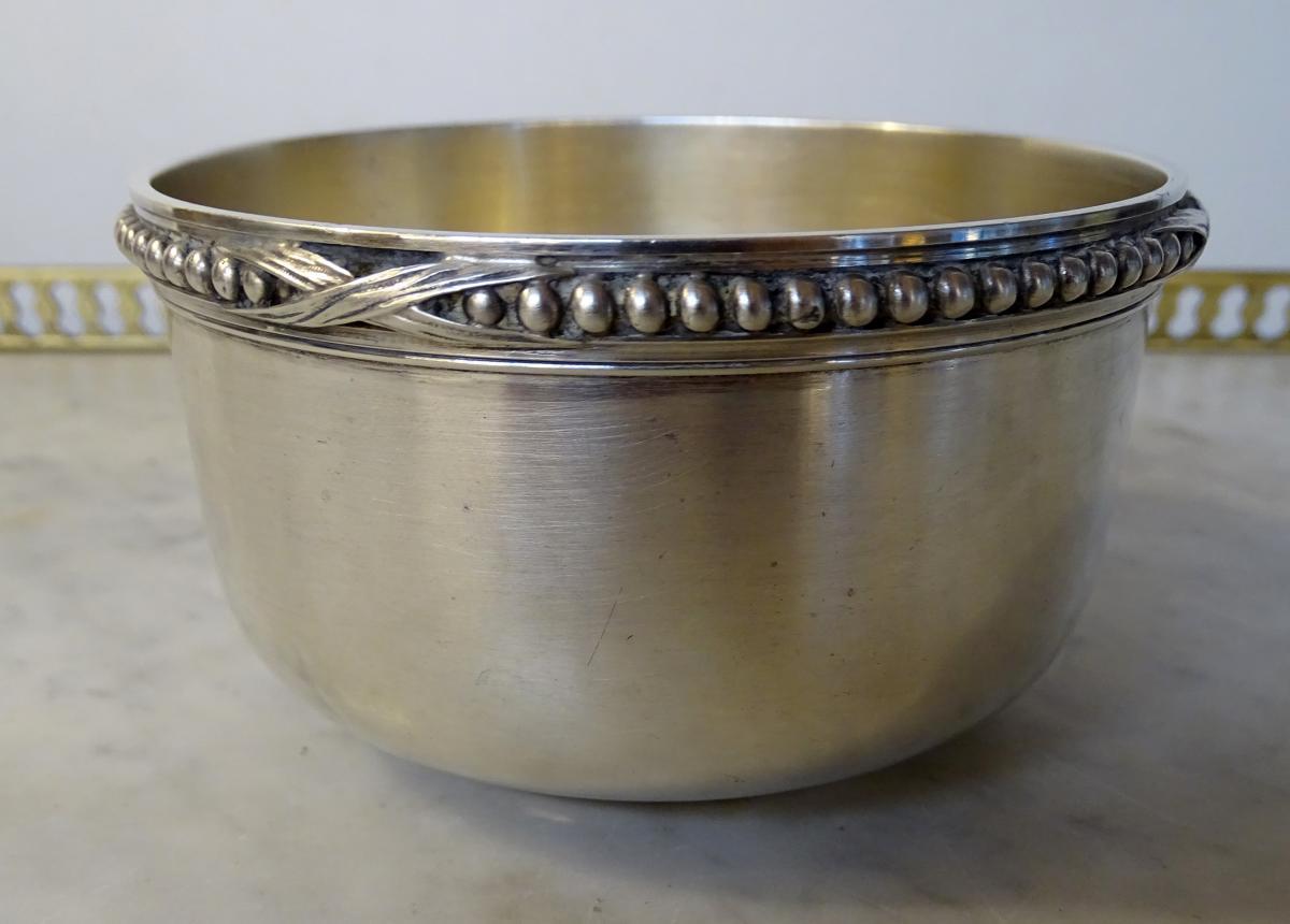 Silver Sugar Bowl Louis XVI Style Period 1900