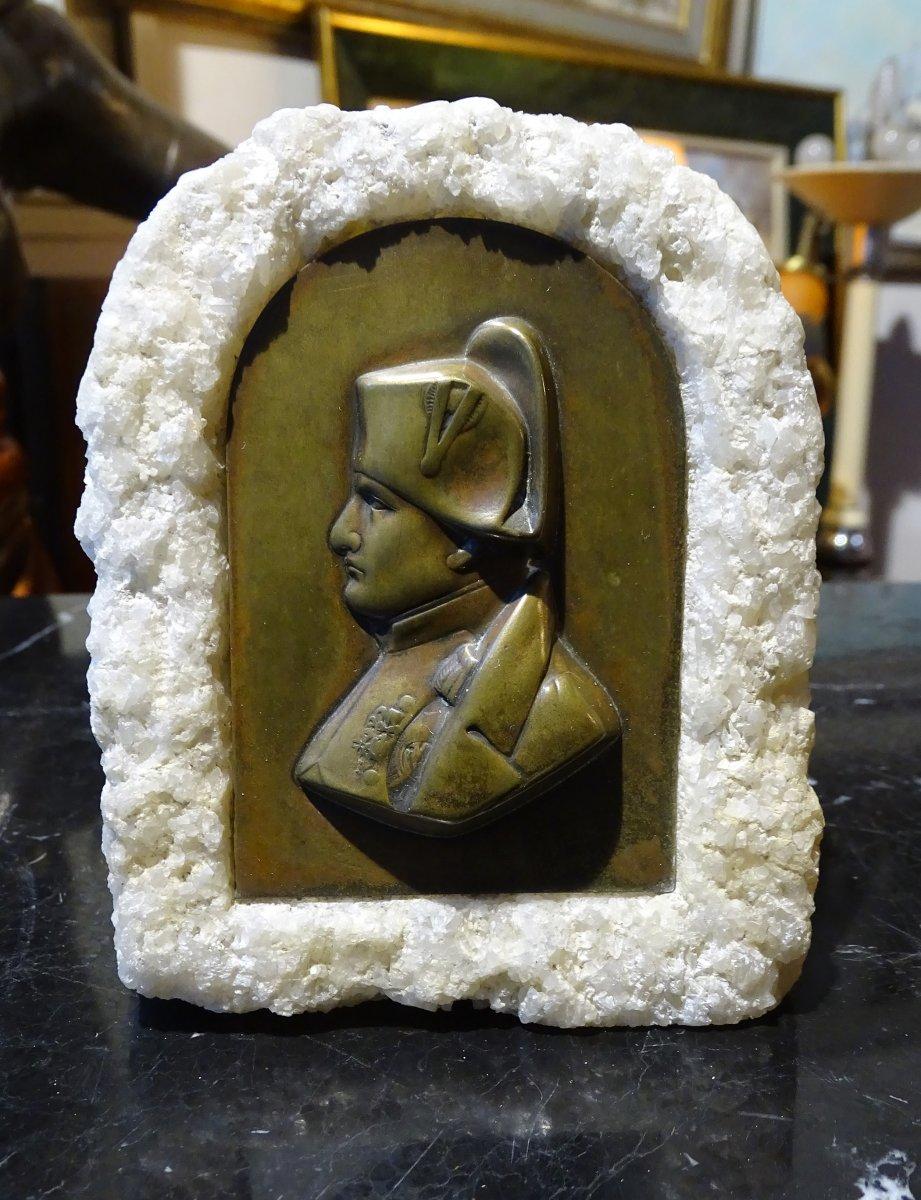 Napoleon Bronze Plate 1900