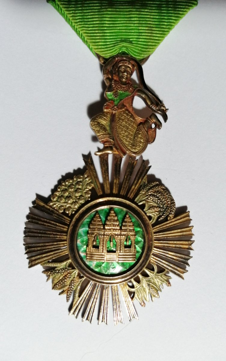 Médaille Ordre Royal Du Sowathara Cambodge-photo-2