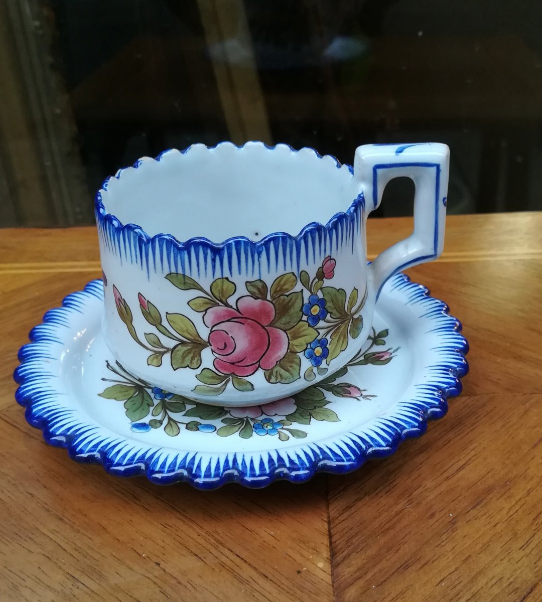 Earthenware Cup From Charolles 1900