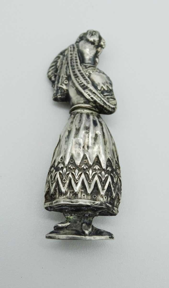 Silver Needle Holder Late 19th / 1900-photo-3