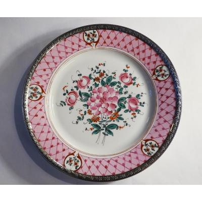 Large Plate Samson Epoque 19th