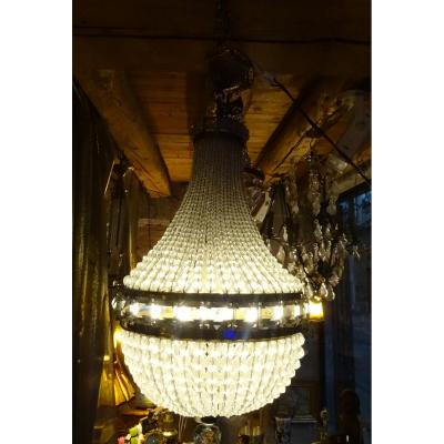 Glass Balloon Chandelier 60s