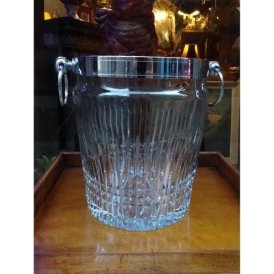 Champagne Bucket In Crystal 50/60 Years