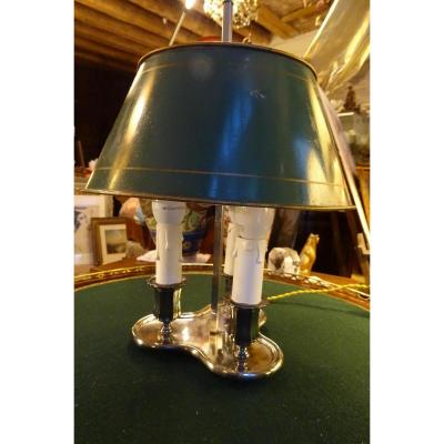 Bouillotte Lamp 3 Lights Early 20th