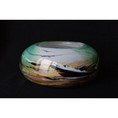 Glass Cup From Michèle Luzoro - Novaro 20th