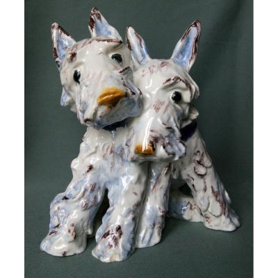 Goldscheider - Ida Meisinger Scottish Terrier 1930