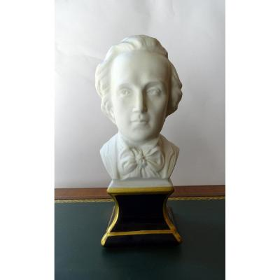 Bust Of Chopin From Tharaud Early 20th