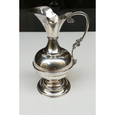 Small Silver Vase Italy 20th