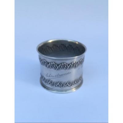 "Silver Napkin Ring  ""christiane"" 20 Th"