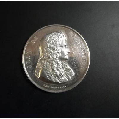 Médaille Jean De La Quintinie 1868