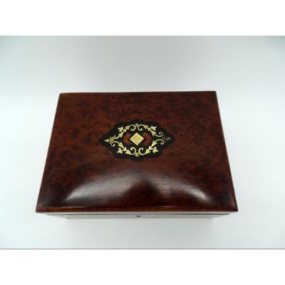 Napoleon III Thuja Veneer Box