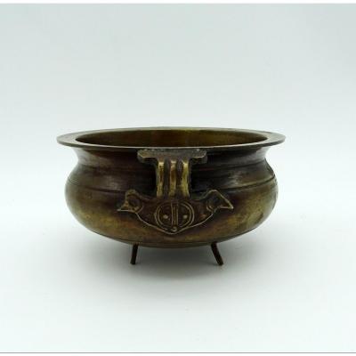 Vide-poches En Bronze Japon 1900/1920
