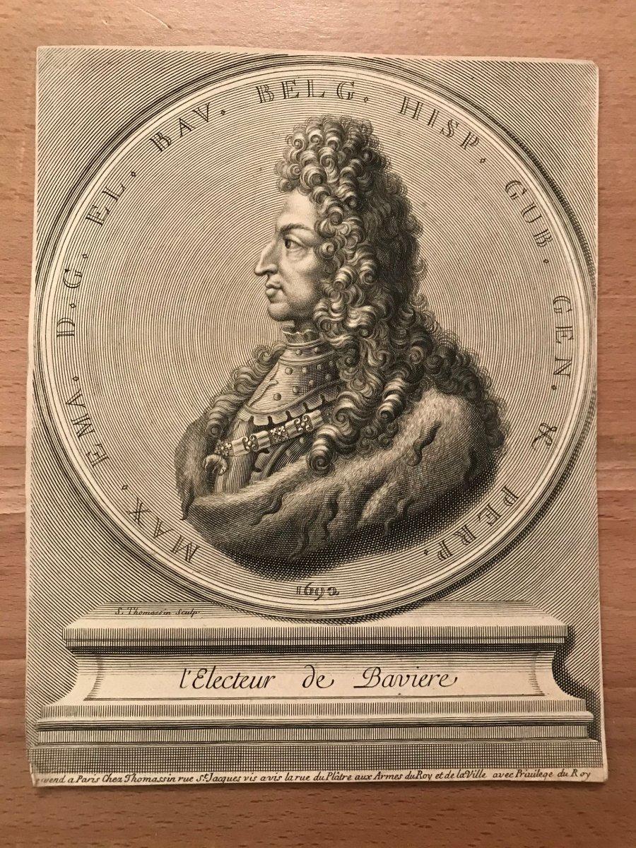17th Engraving-maximilian Ii-thomassin