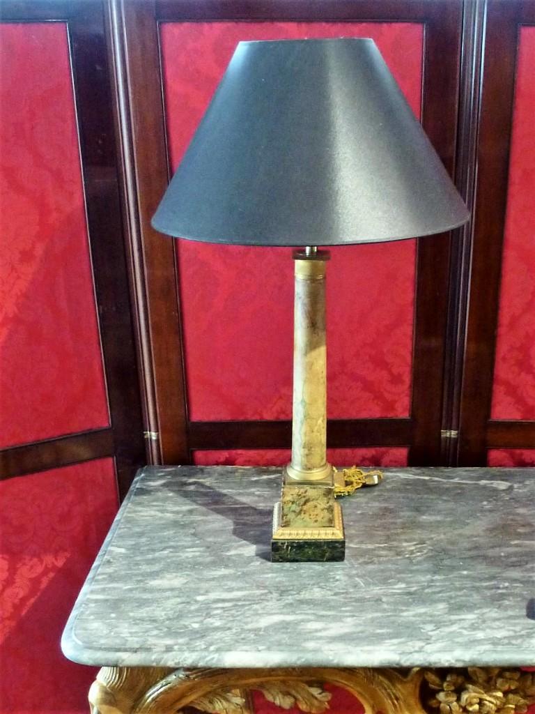 Lampe En Tôle Epoque Empire