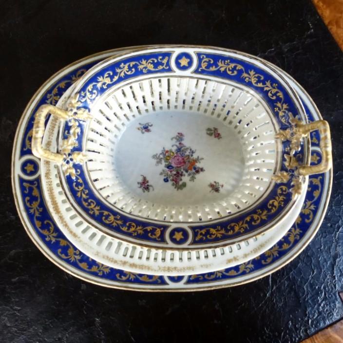 Partie De Service De Table En Porcelaine De Chine  Epoque XVIIIème Siècle-photo-4