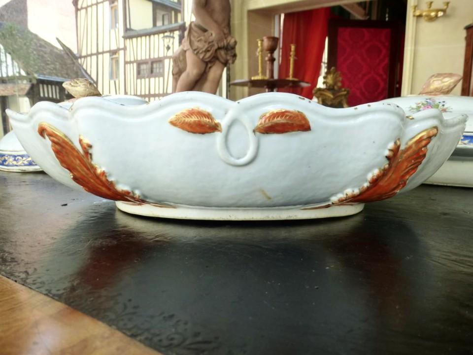 Partie De Service De Table En Porcelaine De Chine  Epoque XVIIIème Siècle-photo-1