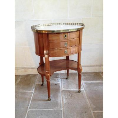 Table De Salon époque Louis XVI En Acajou