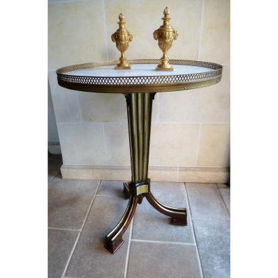 Tripod Pedestal Table Beginning Of XIXth Century