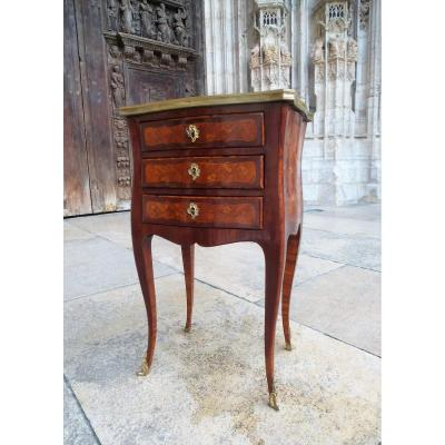 Louis XV Period Marquetry Table