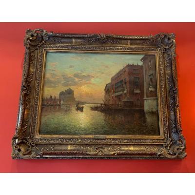 ANTOINE BOUVARD - Vue de Venise
