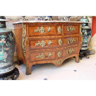 Commode Louis XV Estampillée Severin