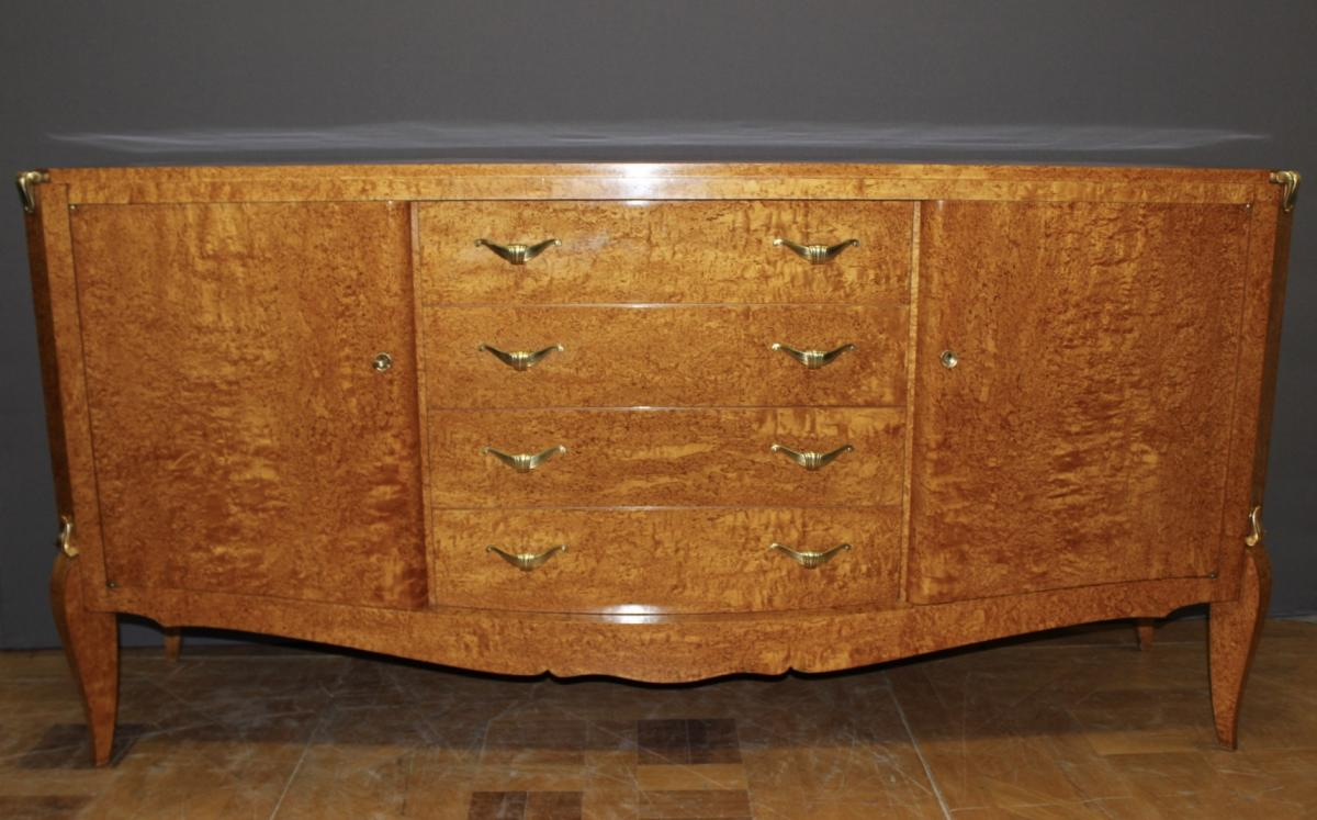 Sideboard Art Deco In Sycamore