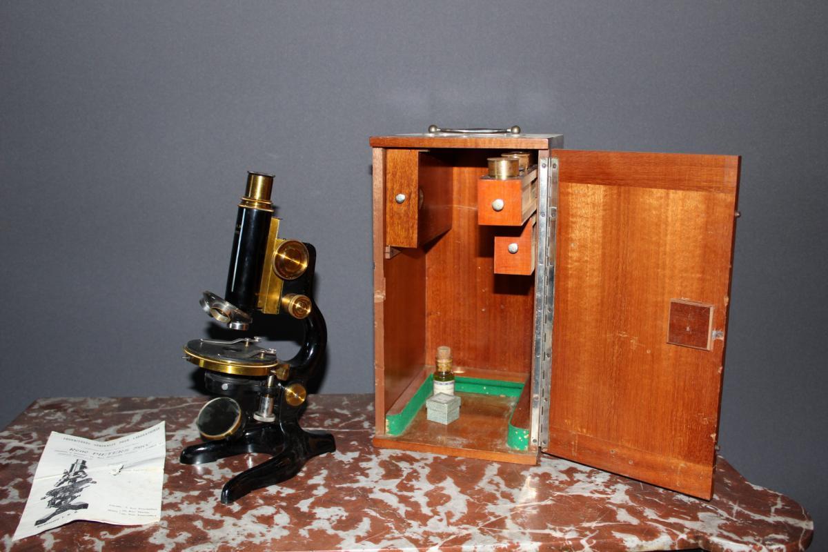 Microscope De Laboratoire Morlot-maury
