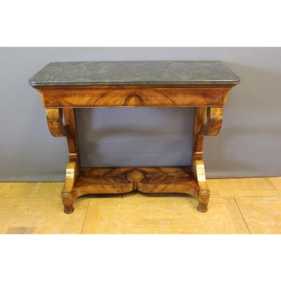 Console Louis Philippe Walnut XIX