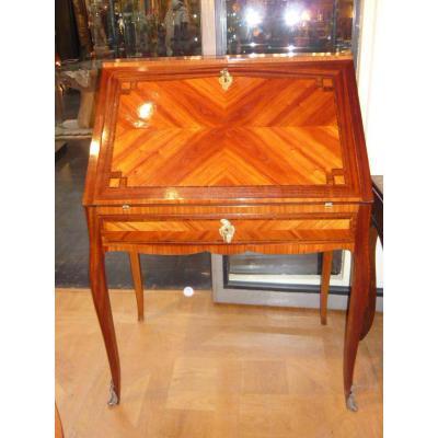 Bureau Dos d'âne De Style Louis XV