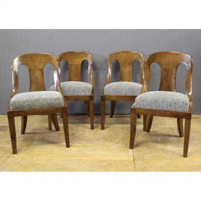 Suite Of Four Chairs Gondolas XIX