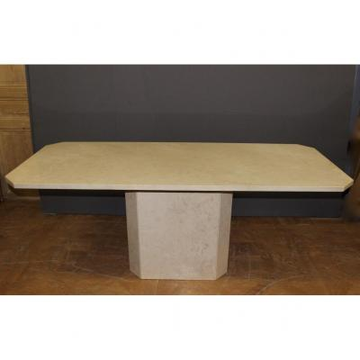 Table Octogonale En Marbre Design