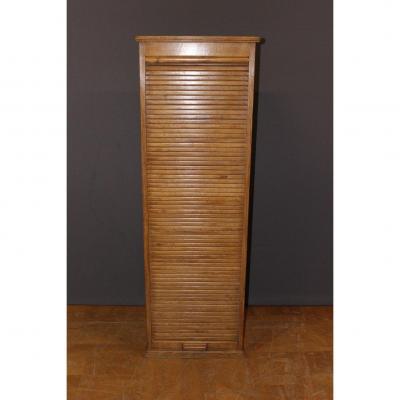 Curtain Binder In Light Oak End XIX