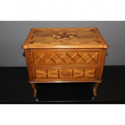 XVIII Master Commode In Marquetry