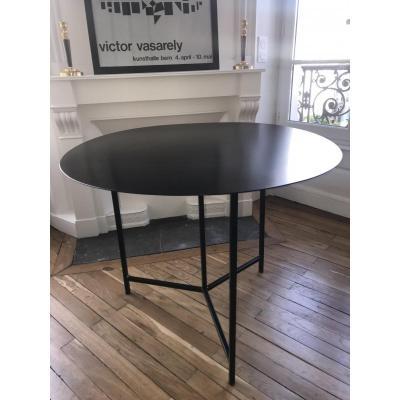 Metal Pedestal Table