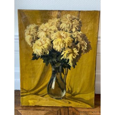 F. Guilermin  1878-1947 Peinture Lyonnaise